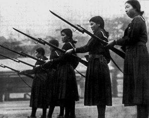 karate dokan japan bajonet