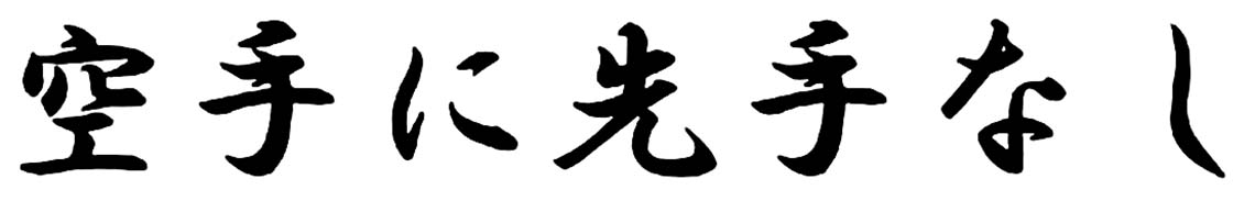 karate dokan karatenisentenashi