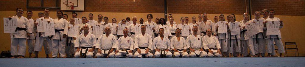 dokan karate examen world shotokan ryu groep 2016