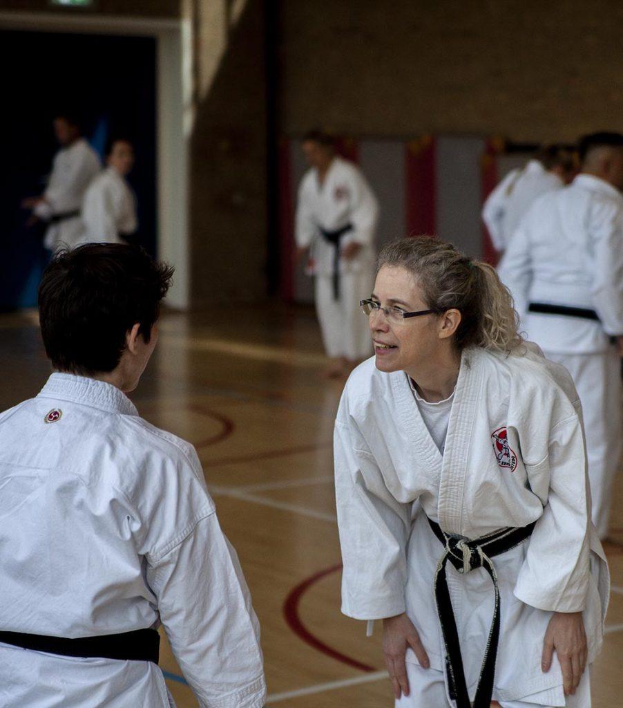karate dokan sandra brockbernd docent