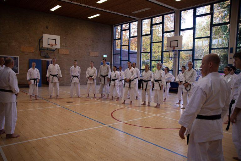 karate dokan stage jaap smaal