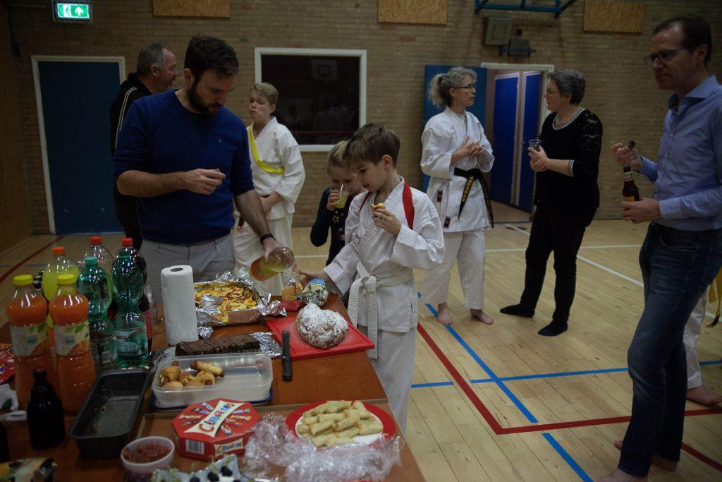 dokan karate afsluitavond december