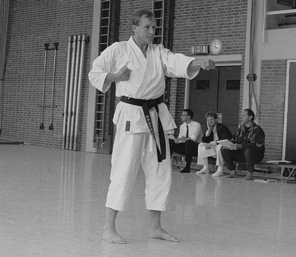 dokan karate andre leraren opleiding
