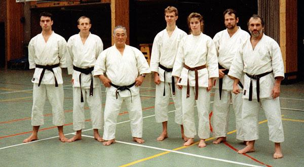 dokan karate stage sensei kase
