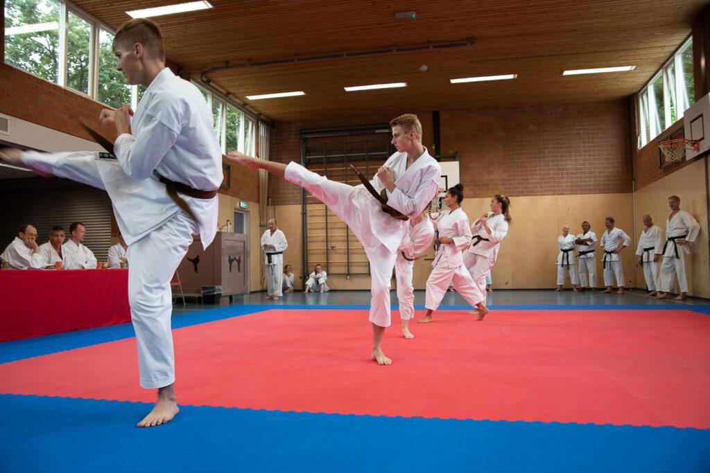 dokan karate dangraad examen